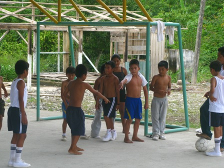 Playing Futbol